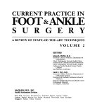 Current Practice in Foot and Ankle Surgery