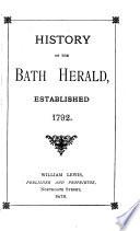 History Of The Bath Herald