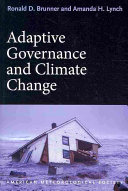 Adaptive Governance and Climate Change