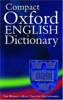 Cover of The Compact Oxford English Dictionary of Current English