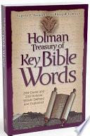 Holman Treasury Of Key Bible Words