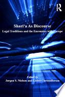 Shari   a As Discourse