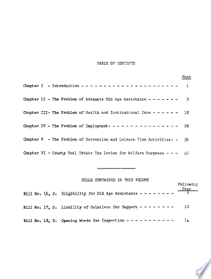 Read Online Wisconsin Legislative Council Report Submitted to the Governor and the Legislature, December, 1952 Full Book