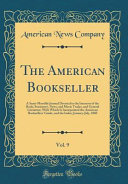 The American Bookseller Vol 9