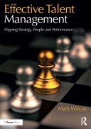 Effective Talent Management