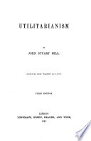 Utilitarianism     Third edition