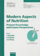 Modern Aspect Of Nutrition Book PDF