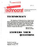 The North American Technocrat