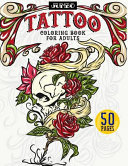 Jumbo Tattoo Coloring Book for Adults