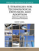 E Strategies for Technological Diffusion and Adoption  National ICT Approaches for Socioeconomic Development