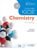 Books - Cambridge/IE IGCSE Chemistry 3 Ed Rev Sb | ISBN 9781444176445