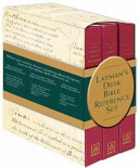 Essential Laymans Bible Reference Desk Set
