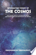 Information Theory Of The Cosmos Book PDF