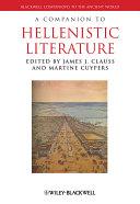 A Companion to Hellenistic Literature