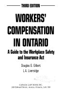 Workers  Compensation in Ontario Book