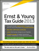 Ernst   Young Tax Guide 2013