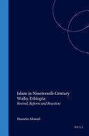 Islam in Nineteenth Century Wallo  Ethiopia