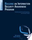Building An Information Security Awareness Program Book PDF