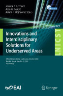 Innovations and Interdisciplinary Solutions for Underserved Areas Pdf/ePub eBook