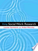 Doing Social Work Research Book PDF