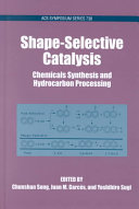 Shape selective Catalysis Book