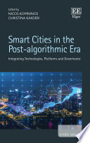 Smart Cities in the Post algorithmic Era Book