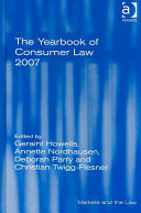 The Yearbook of Consumer Law 2007
