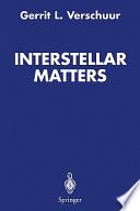 Interstellar Matters Book