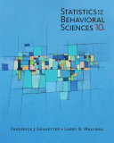 Pdf Statistics for The Behavioral Sciences