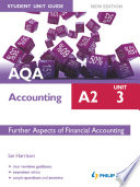 Aqa Accounting A2 Student Unit Guide Unit 3 New Edition Ebook Epub Further Aspects Of Financial Accounting