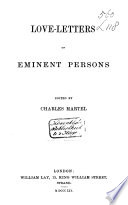 Love letters of Eminent Persons
