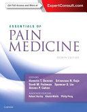 Essentials of Pain Medicine Book