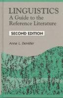 Linguistics [Pdf/ePub] eBook