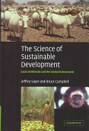 The Science of Sustainable Development Book