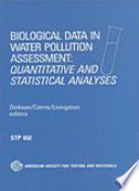 Biological Data in Water Pollution Assessment