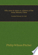 Fifty Years In Amoy Or A History Of The Amoy Mission China Book PDF