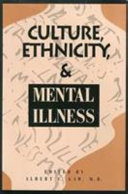 Culture  Ethnicity  and Mental Illness