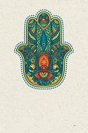 Colorful Hamsa Hand