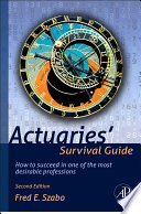 Actuaries Survival Guide Book PDF