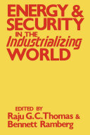 Energy and Security in the Industrializing World Pdf/ePub eBook
