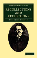 Recollections and Reflections