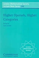 Higher Operads, Higher Categories