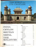 The World and Its Peoples  India  India  Ceylon  Bhutan  Nepal  the Maldives