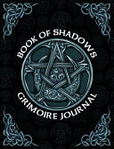 Book Of Shadows Grimoire Journal Pagan Spell Book Magic Blank 8 5x11 Notebook Diary And More 150 Pages