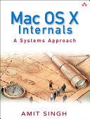 Pdf Mac OS X Internals Telecharger