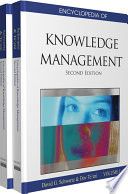 Encyclopedia of Knowledge Management  Second Edition Book