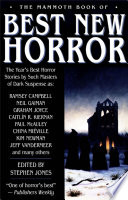 The Mammoth Book of Best New Horror 2003