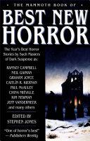 The Mammoth Book of Best New Horror 2003 [Pdf/ePub] eBook
