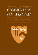 Commentary on Wisdom