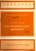 Psychopharmacology Abstracts